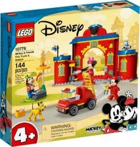 lego 10776 mickey friends brandweerkazerne auto