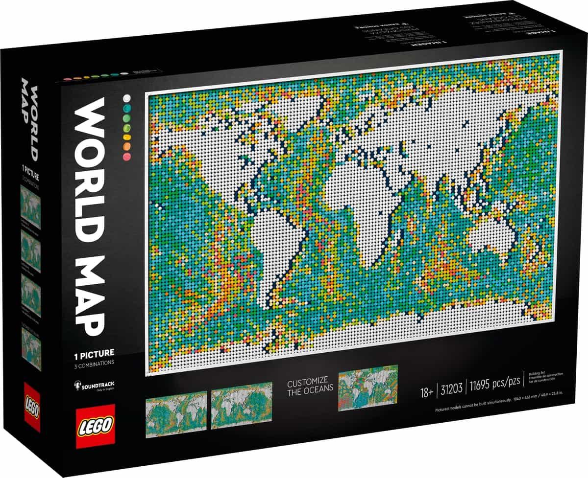 lego 31203 wereldkaart