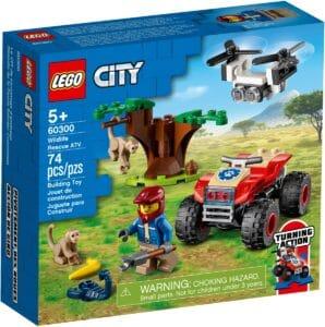 lego 60300 wildlife rescue atv