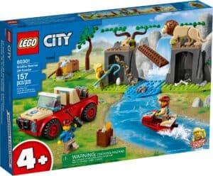 lego 60301 wildlife rescue off roader