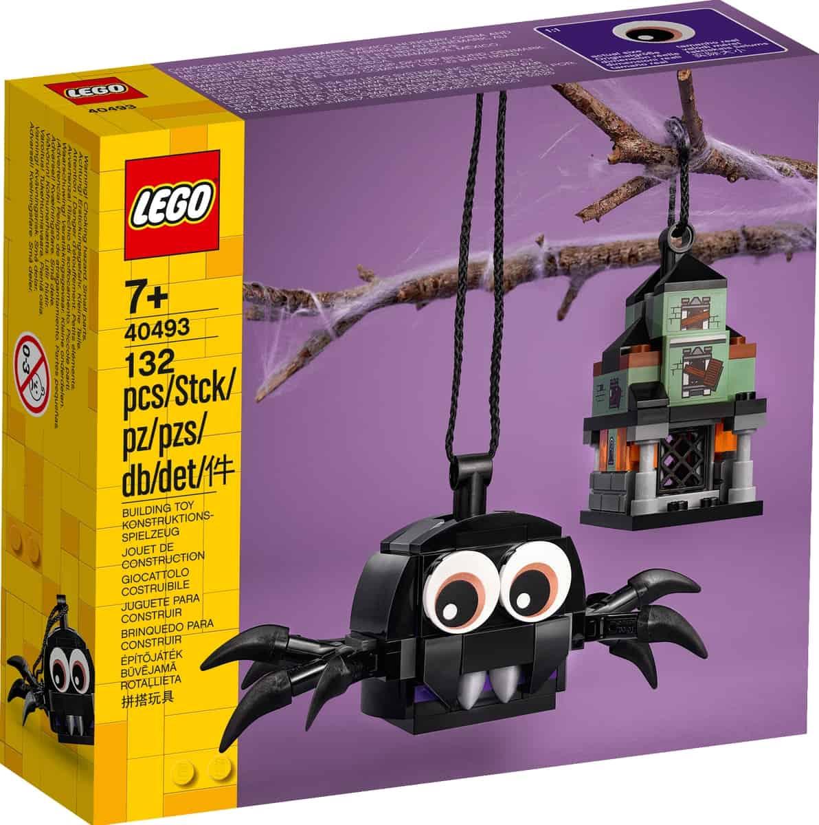lego 40493 spin en spookhuis pakket