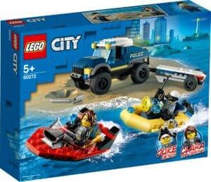 lego 60272 elite politieboot transport