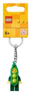 lego 854080 erwtenmeisje sleutelhanger