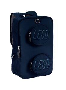 lego 5006741 rugzak in de vorm van een steen marineblauw