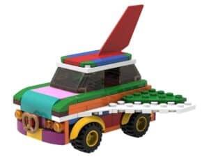 lego 5006890 herbouwbare vliegende auto