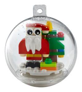lego 854037 kerstversiering met kerstman